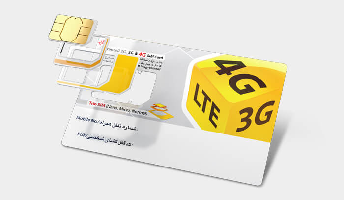 Irancell - 4G SIM Card | Cell-phone in Iran