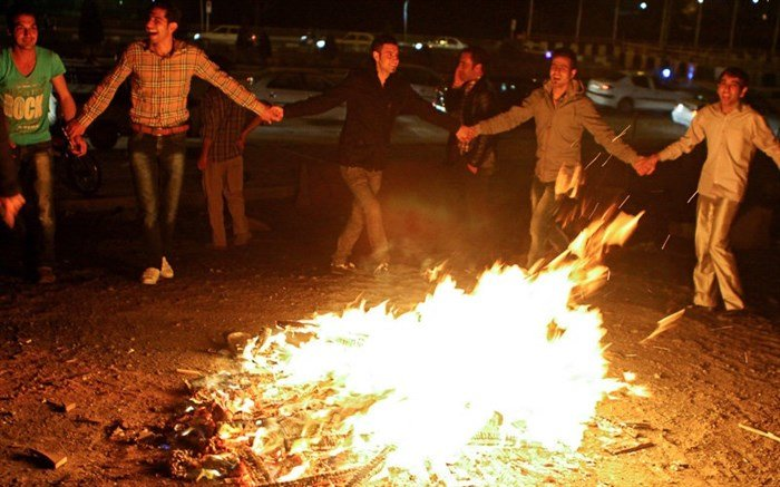 Charshanbe suri, a thrilling Persian custom