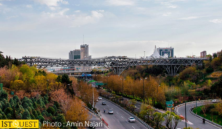Tabiat Bridge- Tehran