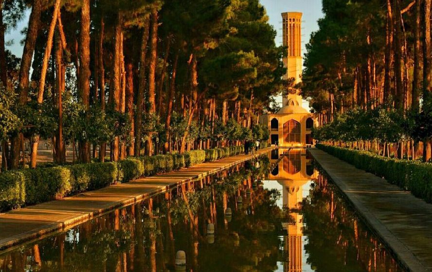 Dowlatabad Garden Persian garden | Yazd Travel Guide