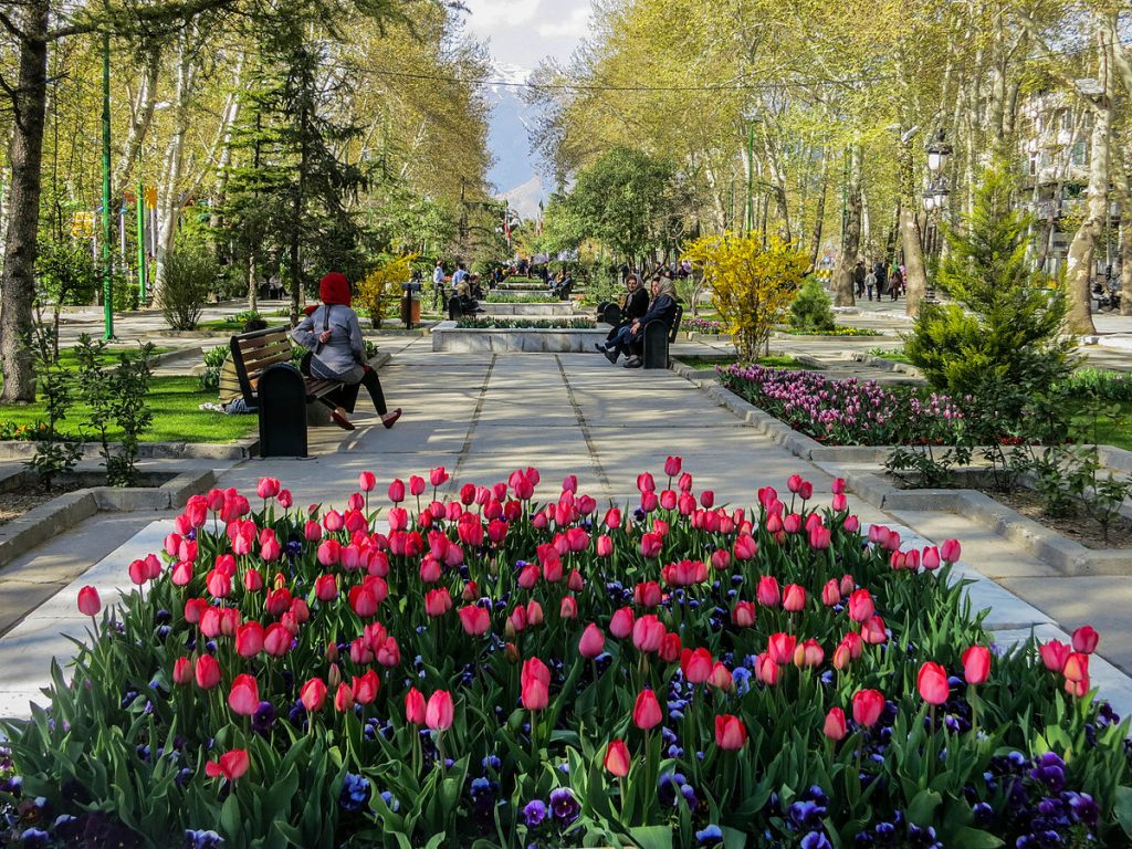 Spring in Tehran, Mellat Park | Best Time to Visit Iran