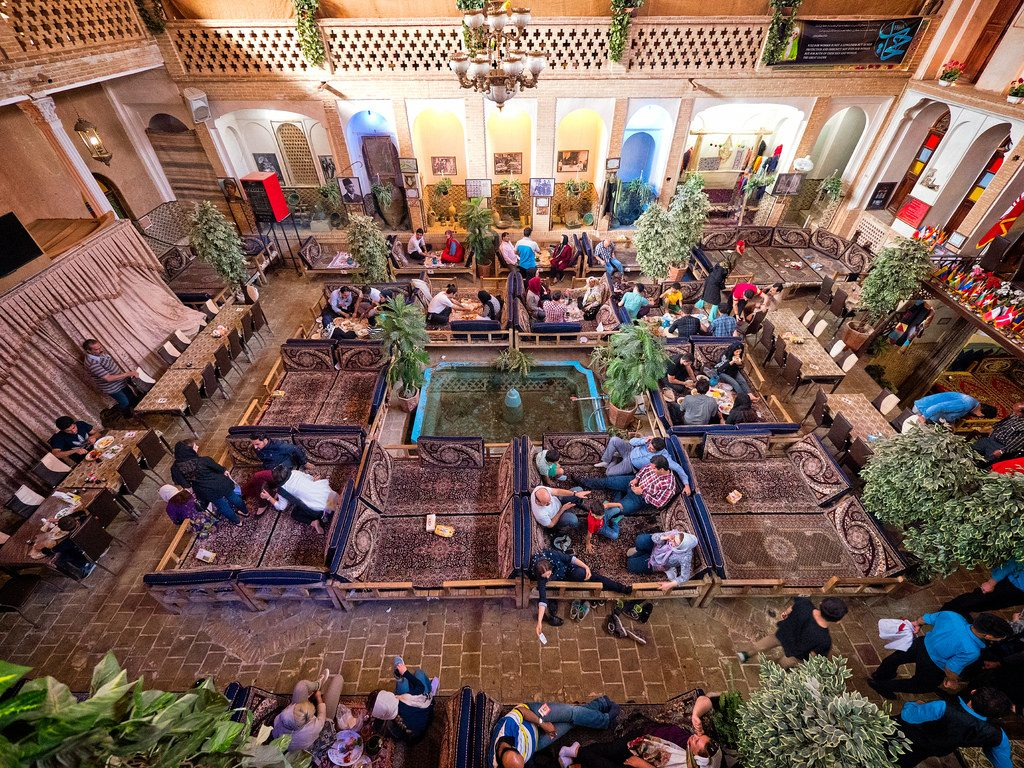 Abbasi Traditional Persian Restaurant, Kashan, Iran