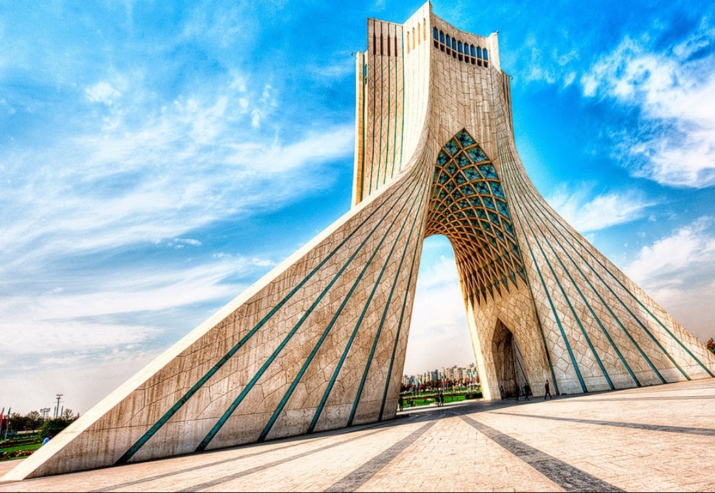 Azadi tower in Tehran | How Many Days to Visit Iran