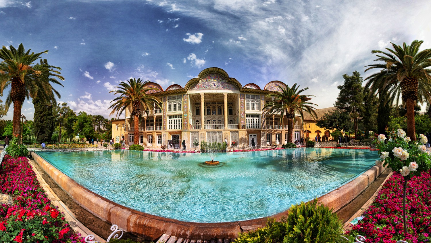The Eram Garden in Shiraz | How Many Days to Visit Iran