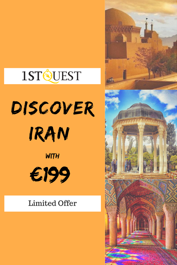 Discover Iran with €199