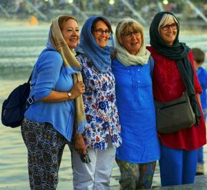 dress code for ladies who have a trip to Iran
