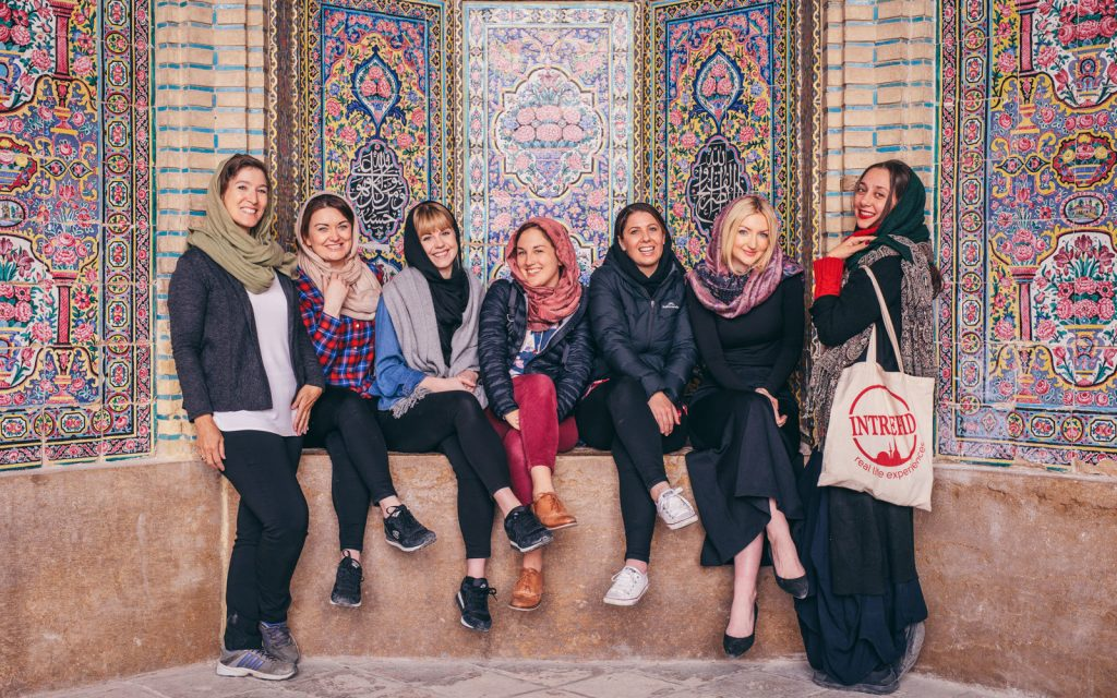 Foreign women travel to Iran