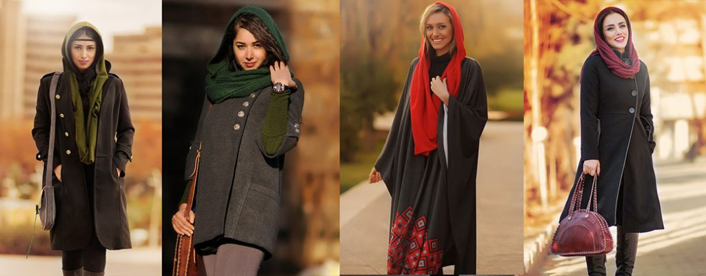 Women dressing in Tehran, Iran