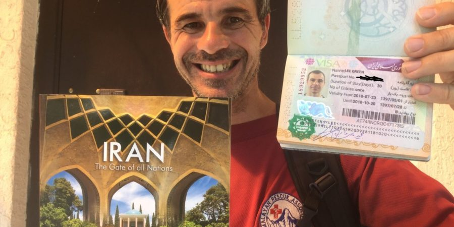 Applying for Iran visa