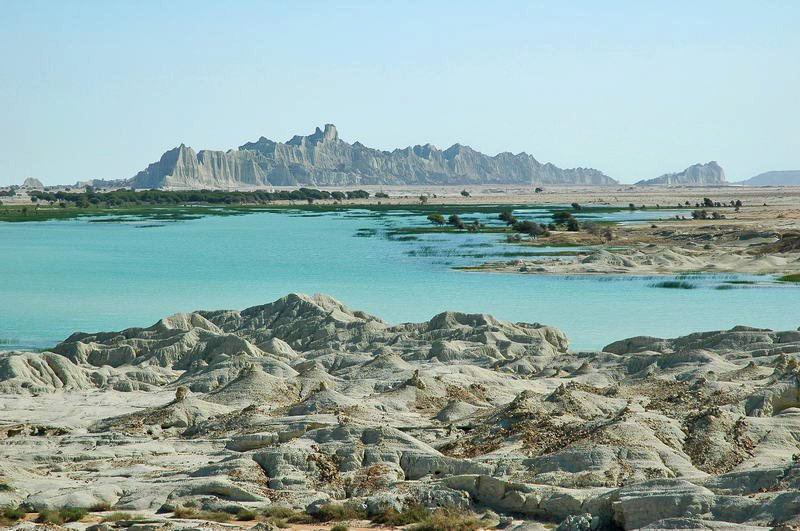 Martian Mountains of Sistan and Baluchistan