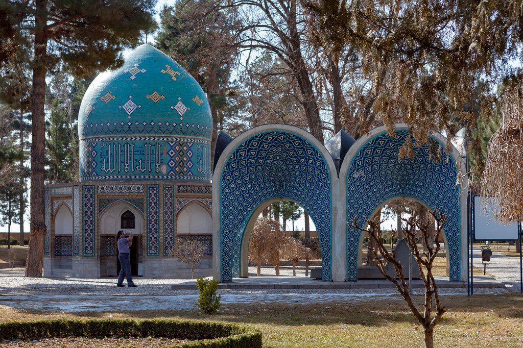 The tomb of Attar