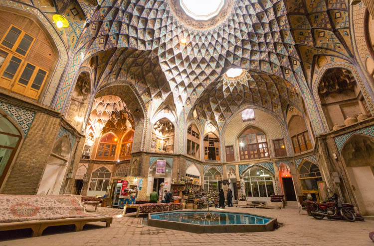 Historical Bazaar of Kashan