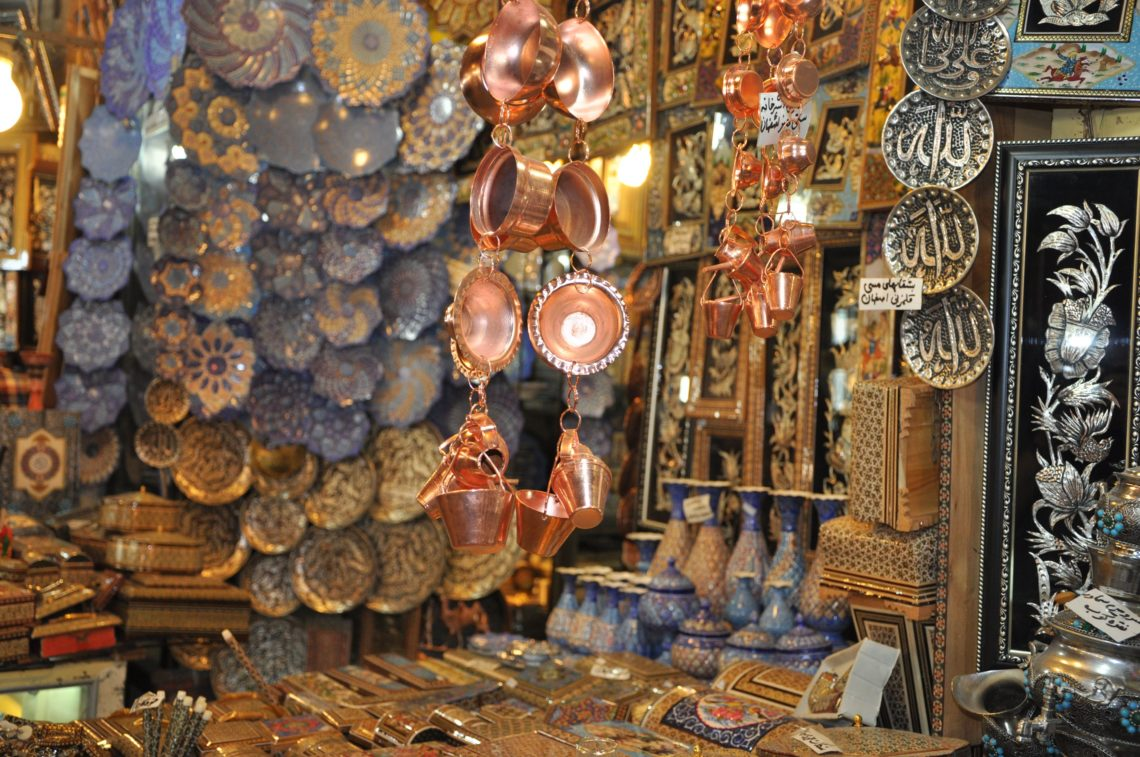 Copper handicrafts in Iran