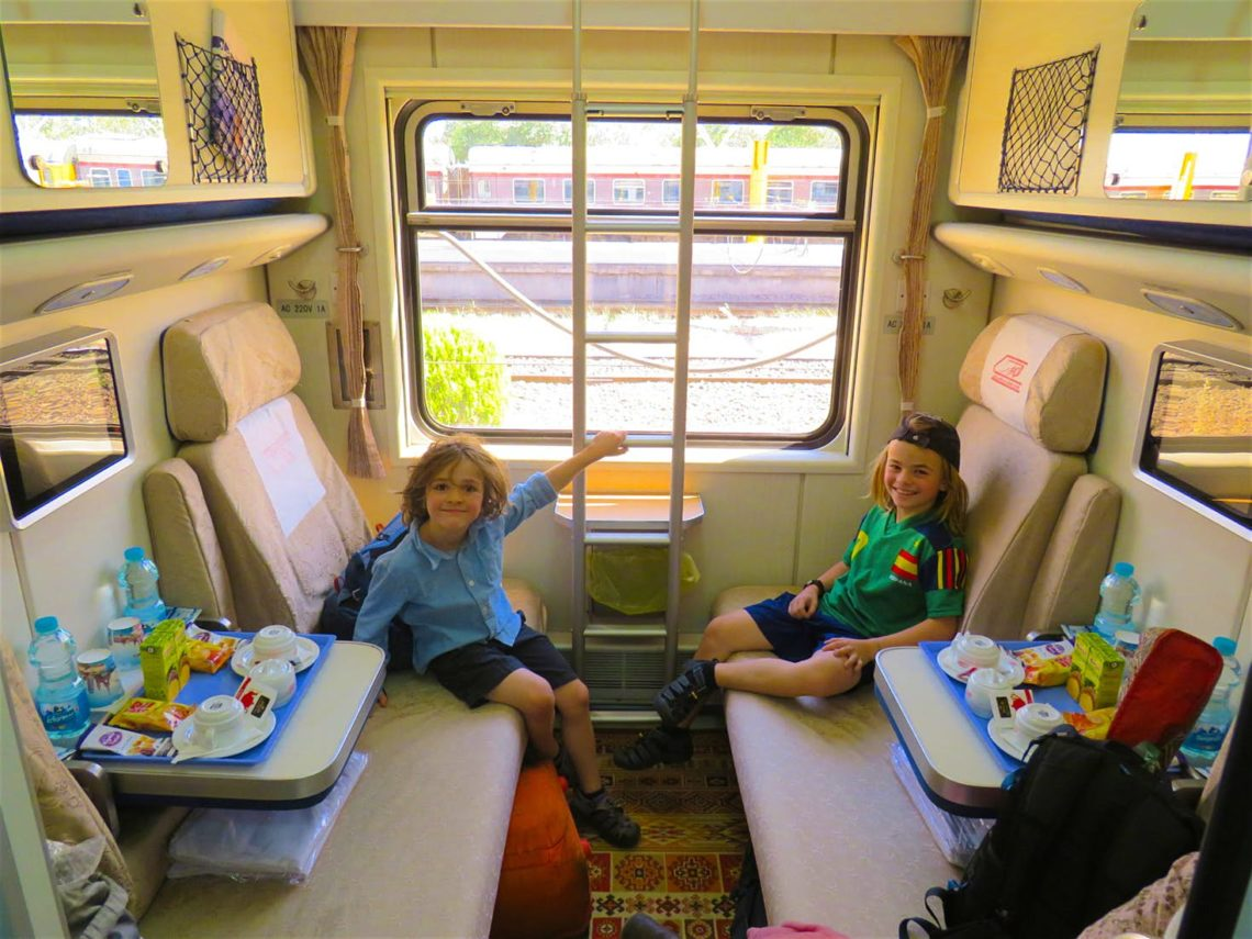 Classes and costs of different Iranian trains