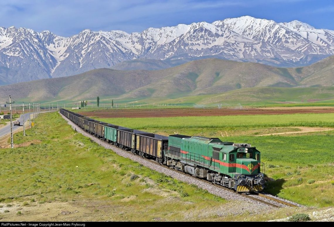 Iran domestic train