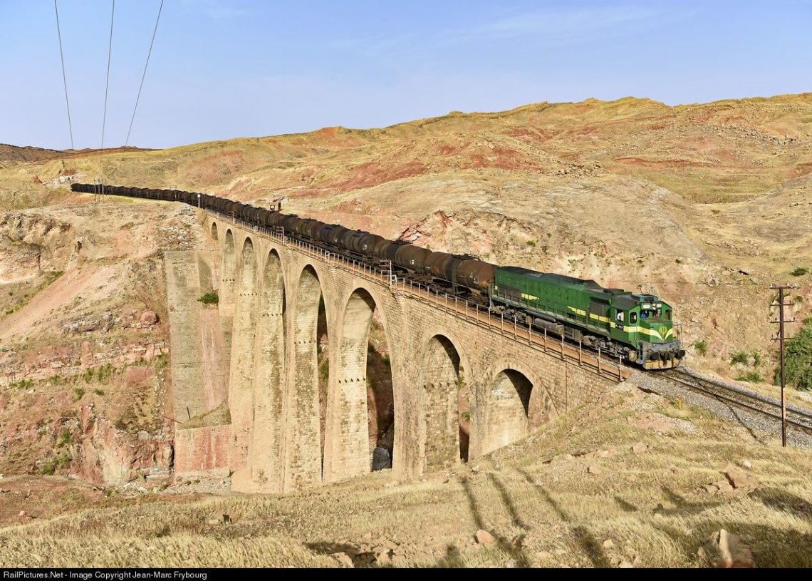 Traveling in Iran by train