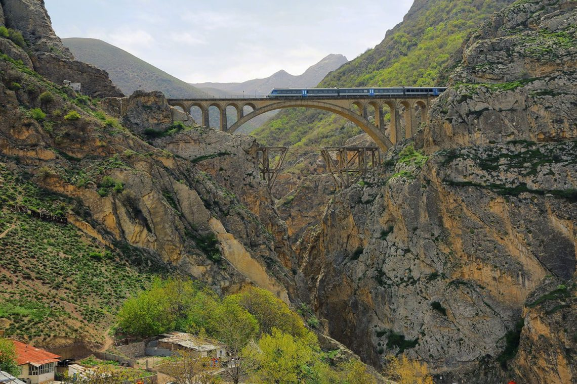 Veresk bridge, Veresk, Iran