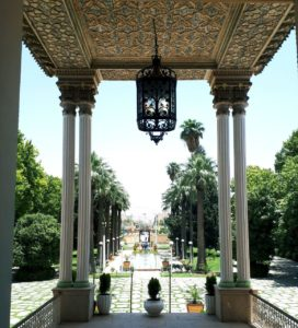 Persian garden in Shiraz