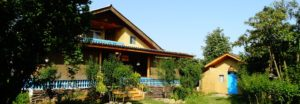 The main house on the Gileboom Homestay property in Gilan