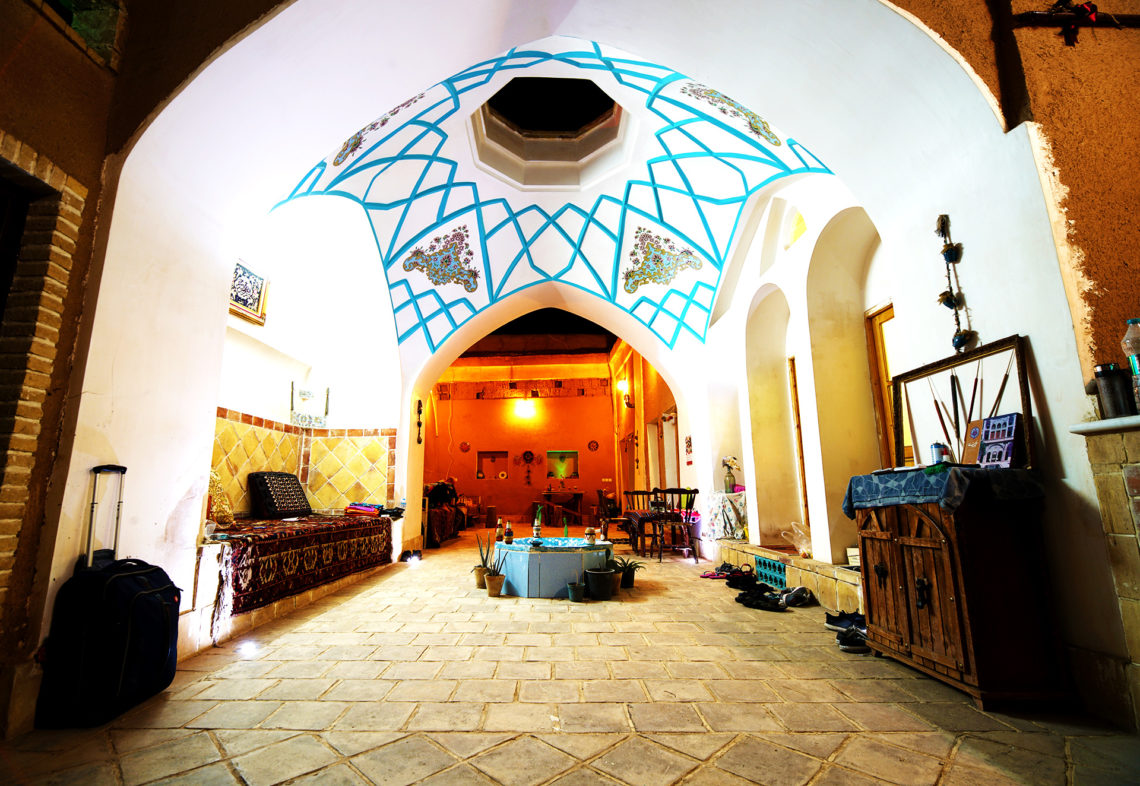 Green House Hostel, Kashan, Iran