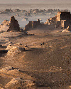 Kaluts of the Lut Desert, Iran