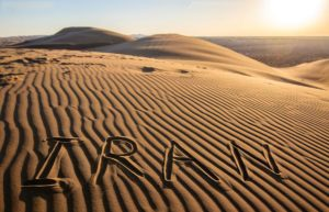 sandy deserts of Iran