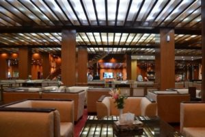 The Lobby of the luxurious Pars Hotel Ahwaz
