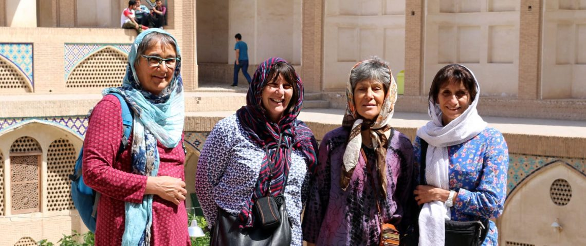 Female Tourists in Iran