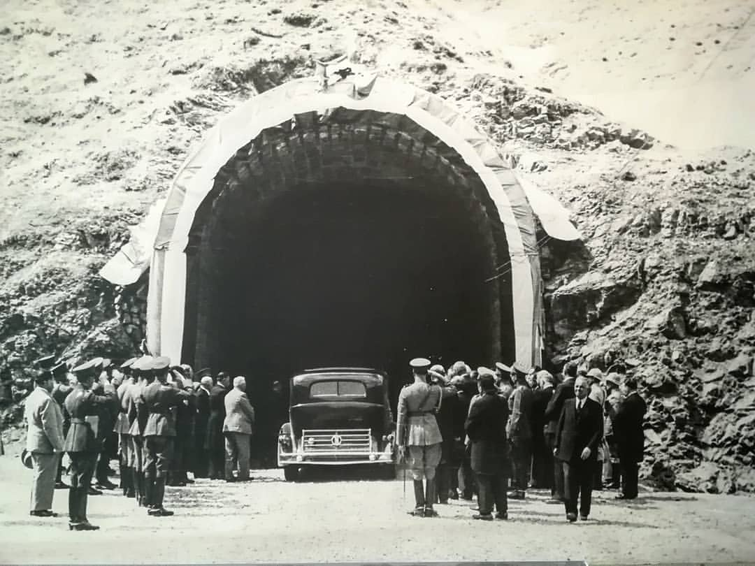 Chalus Road in ancient times