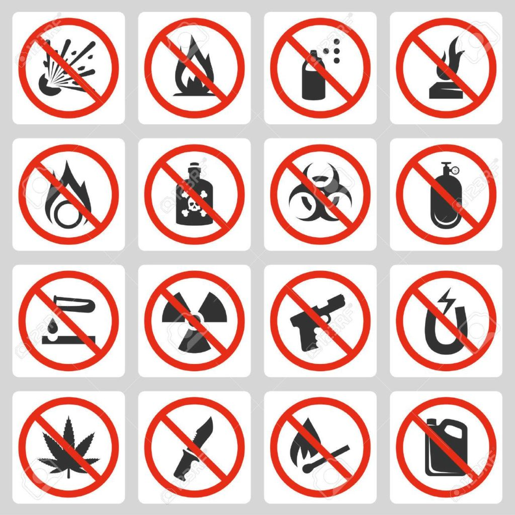 Prohibited Items in Iran airports