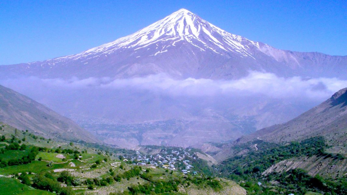 Azou Plains, Damavand, Iran
