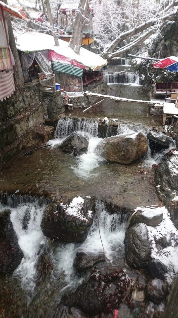 Darband in Winter