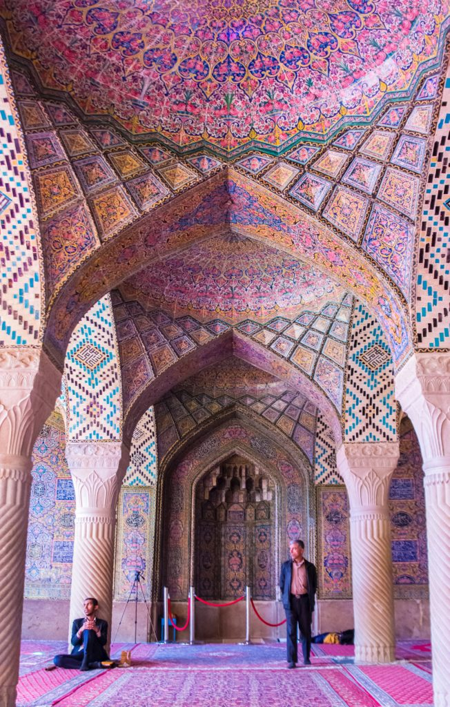 Pink mosque in Shiraz