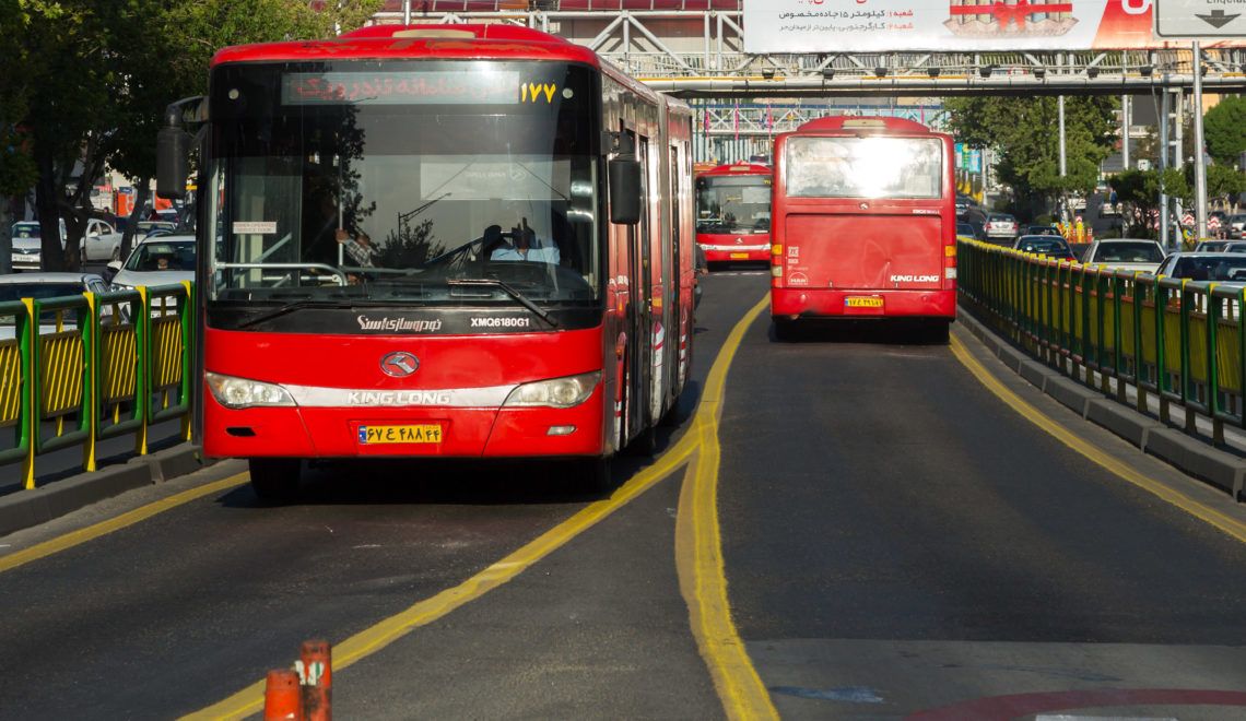 Complete guide of Tehran's BRT