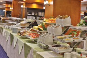 Free breakfast in Homa hotel