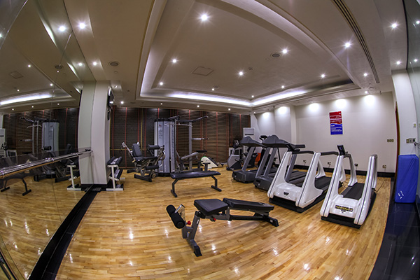 Parsian Esteghlal International Hotel's Gym