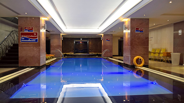 Parsian Esteghlal International Hotel's Indoor Pool