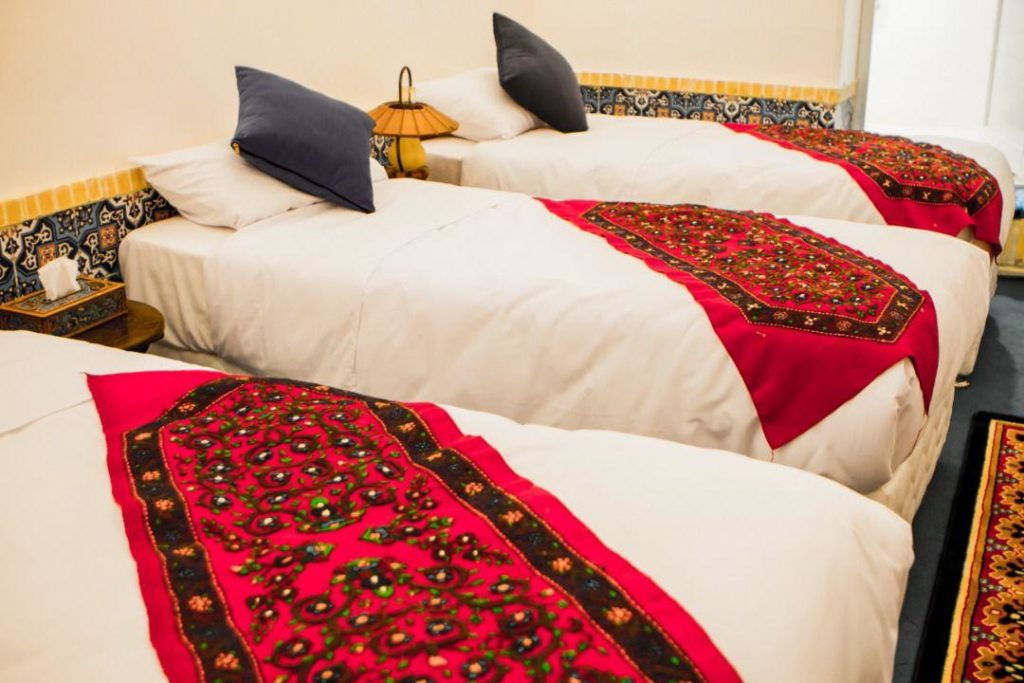 Shahbaz hotel, double-room hotel, Kerman province