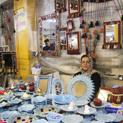 From Carpet to Bracelet at Parvaneh Market