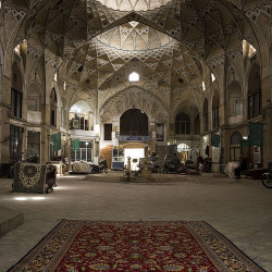 Marvel at Qom's grand Bazaar