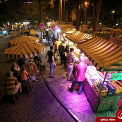 Eat Street Food After Dark With Tehroonis