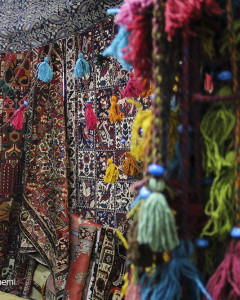From Carpet to Bracelet at Parvaneh Market